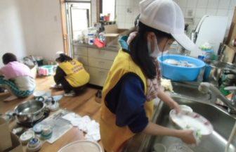 岡山県総社市でのボランティア活動